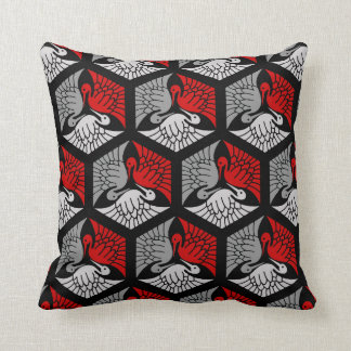 Red Black Grey Pillows Decorative Amp Throw Pillows Zazzle