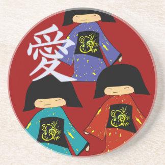 Asian Love Coasters 110