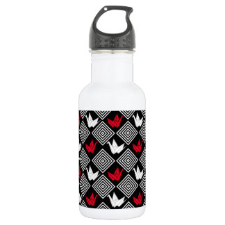 Japanese Crane Water Bottles | Zazzle - photo#13