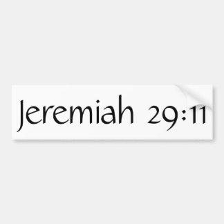Jeremiah 29 11 stickers zazzle - Jer 29 11 kjv ...