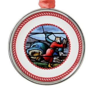 Jesse Tree Jonah Ornament #1 ornament