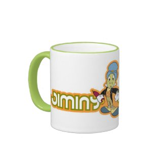 Jiminy Cricket Disney Coffee Mug
