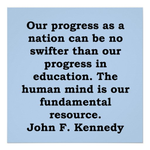 John F Kennedy Gratitude Quote: John F Kennedy Quote Posters