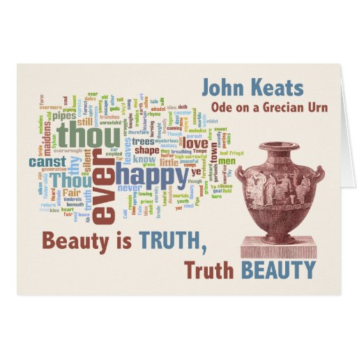 A commentary on a grecian urn by keats