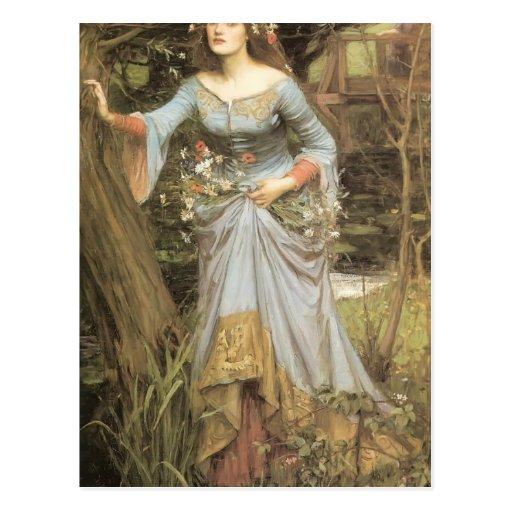 John William Waterhouse- Ophelia Postcard | Zazzle  John William Wa...