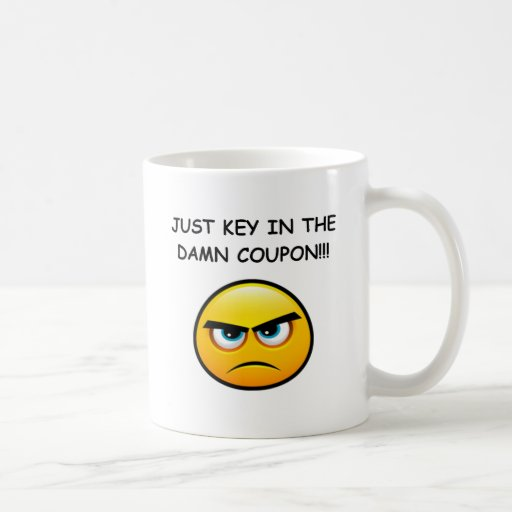Coupon for discount mugs