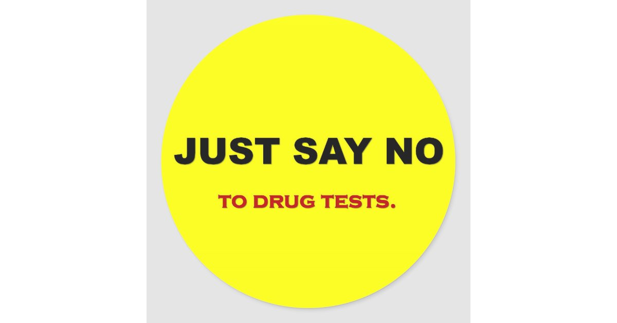 Just say no to piss tests