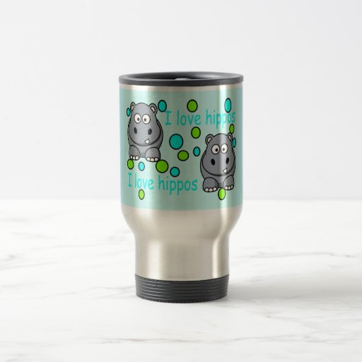Hippo Travel Mug
