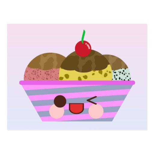 Ice cream french postcards 2