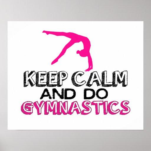 KEEP CALM AND DO gymnastics Poster | kaitlyn | Keep Calm-o ...  |Keep Calm Gymnastics