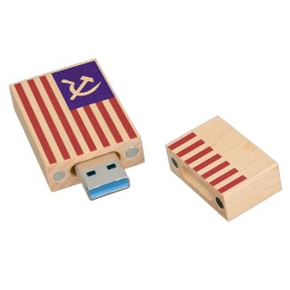 KGB Spy Drive Wood USB 3.0 Flash Drive
