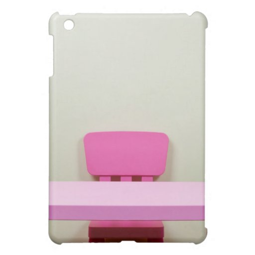 Kids Desk And Chair Against The Wall Ipad Mini Covers Zazzle