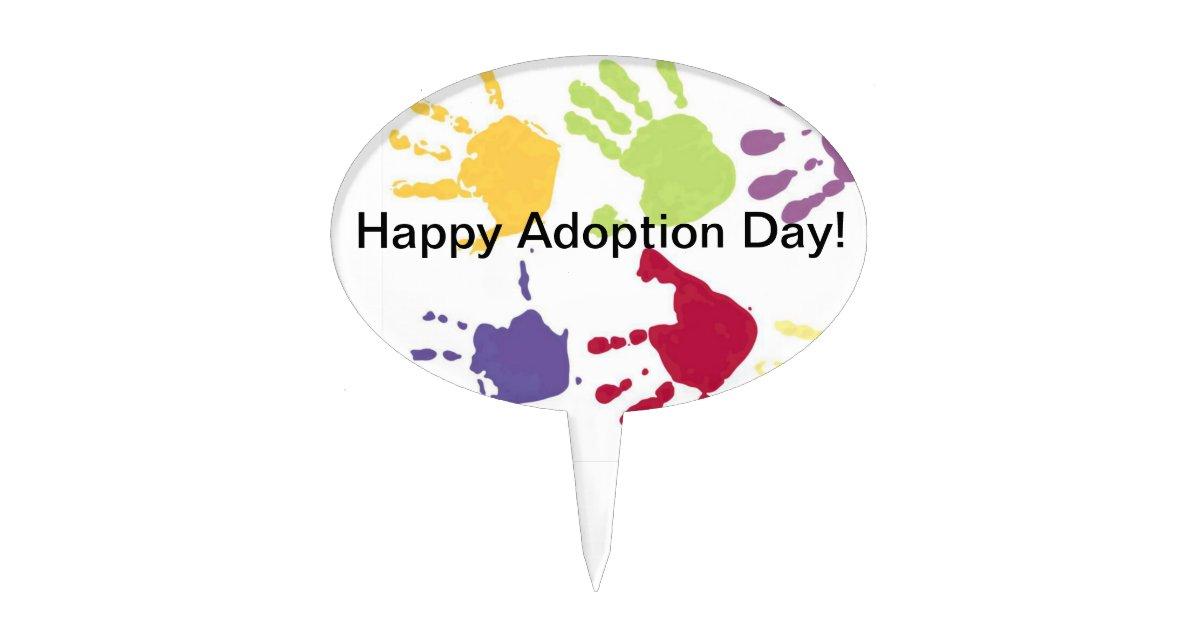 Adoption Cake Topper