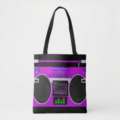 Killer Purple Boombox Stereo