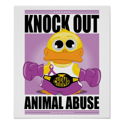 animal abuse posters ideas - photo #4