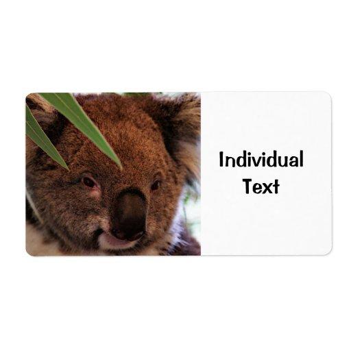 Koala 1115P Label