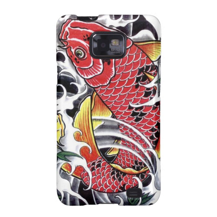 7ad4bb29bbf8a Koi Fish Japanese tattoo design Samsung Galaxy S2 Cases on PopScreen