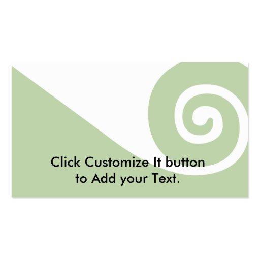 Koru, New Zealand Business Card