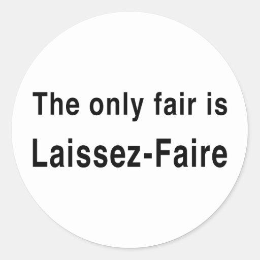 laissez faire theory - photo #29