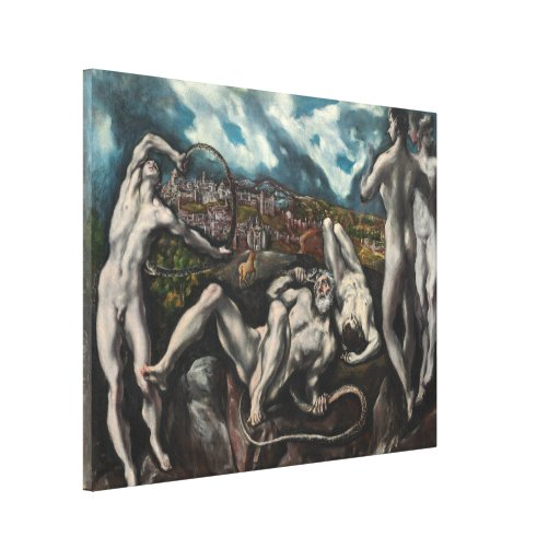 Laocoon by El Greco Canvas Print | Zazzle