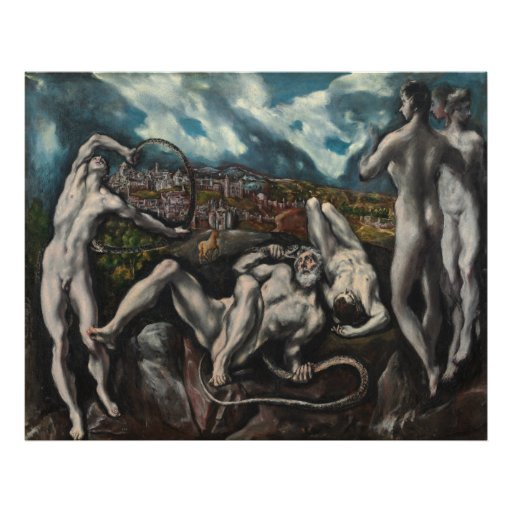 Laocoon by El Greco Poster | Zazzle