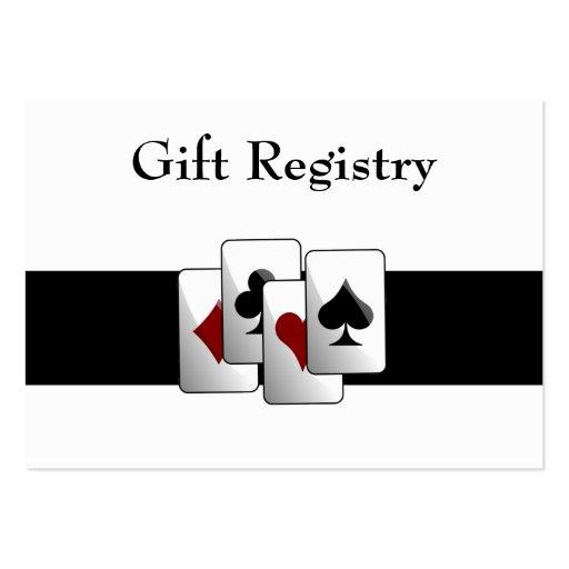 Las Vegas Wedding Gifts: Las Vegas Wedding Gift Registry Cards