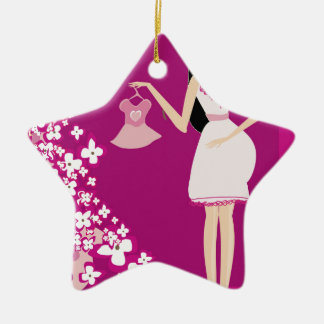 Pregnant Woman Ornaments & Keepsake Ornaments | Zazzle