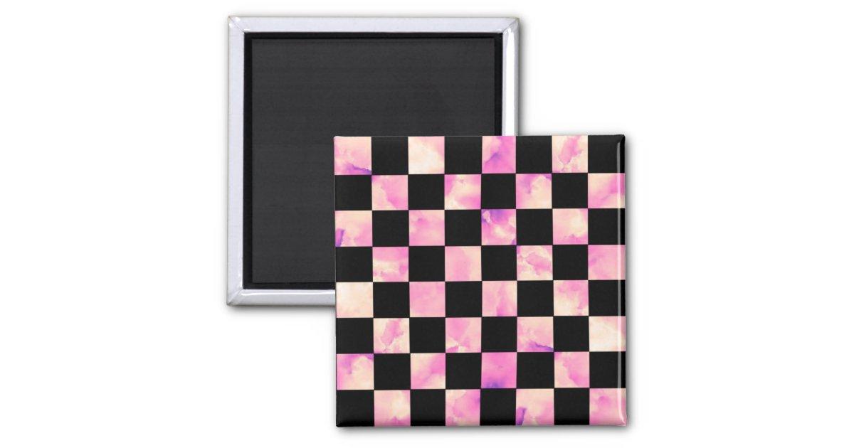 Pow 2 checkerboard squares