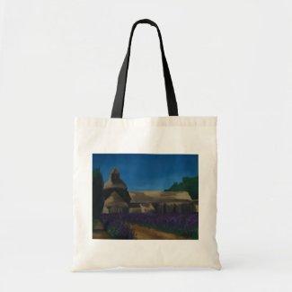 Lavender at the Sénanque Abbey bag