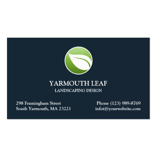 Landscaping Business Card Templates Page3 Bizcardstudio