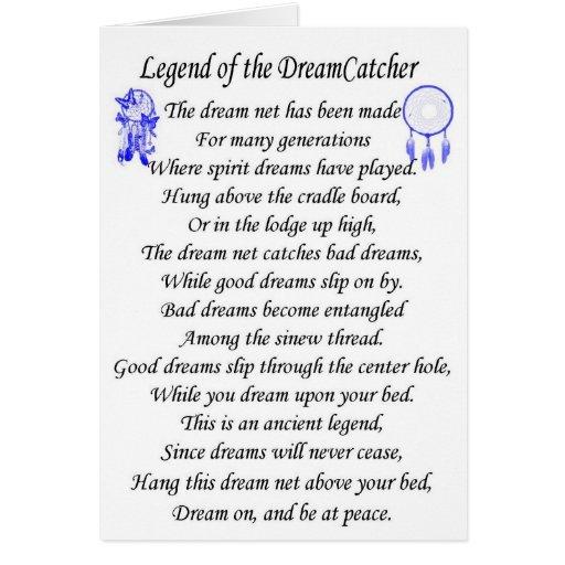 The legend of the Dream Catcher (Cheyenne)