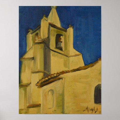 L'Eglise à Bonnieux print