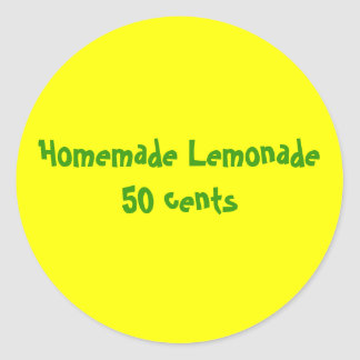 Lemonade Stand 50 Cents