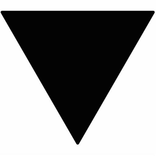 Lesbian Black Triangle Acrylic Cut Out | Zazzle