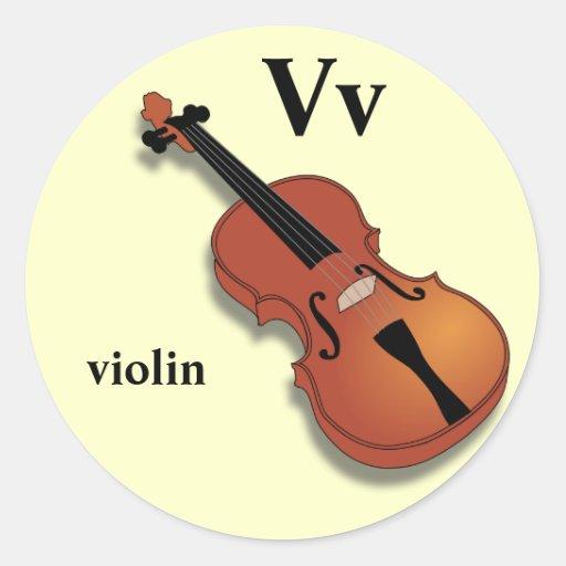 V Is For Violin Letter V violin...