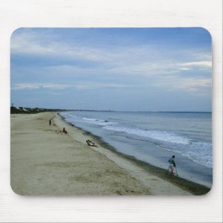 Life Along The Beach mousepad