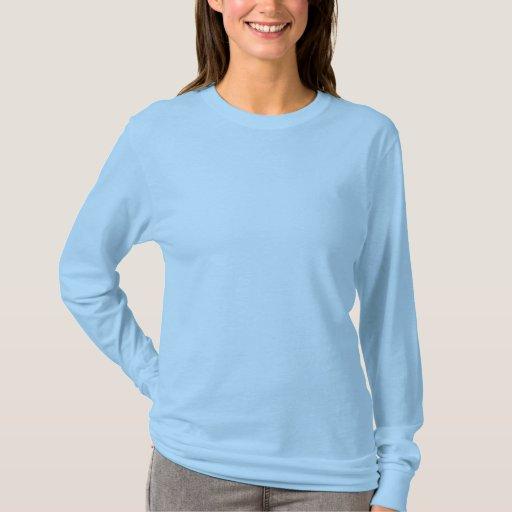 Light Blue Women S Basic Long Sleeve T Shirt Zazzle