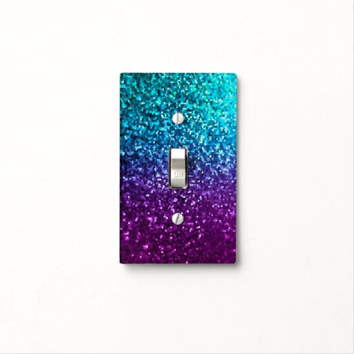 Light Switch Cover Mosaic Sparkley Texture Zazzle