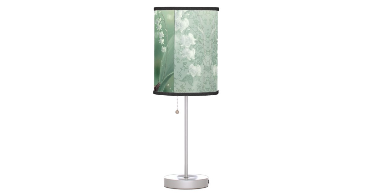 Lily of the Valley Flower Fairy Table Lamp | Zazzle