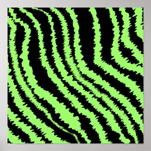 lime green and black zebra print pattern zazzle. Black Bedroom Furniture Sets. Home Design Ideas