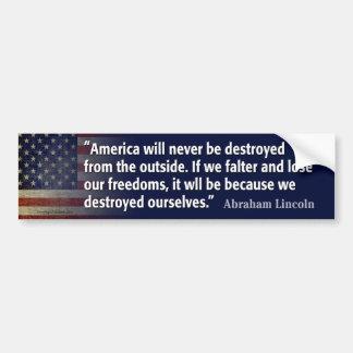 Safety versus freedom
