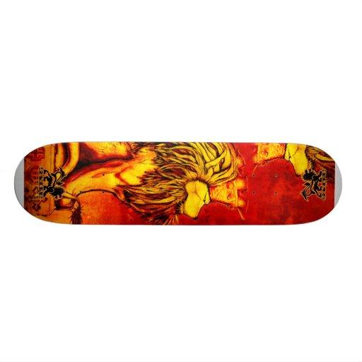 Lion King Skateboard Skidone Zazzle