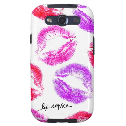 Lip Service Phone Cases Samsung Galaxy S3 Case | Zazzle