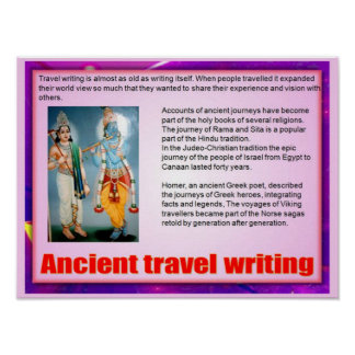 Travel writing article submissions to wall