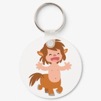 Little Cartoon Centaur Keychain keychain