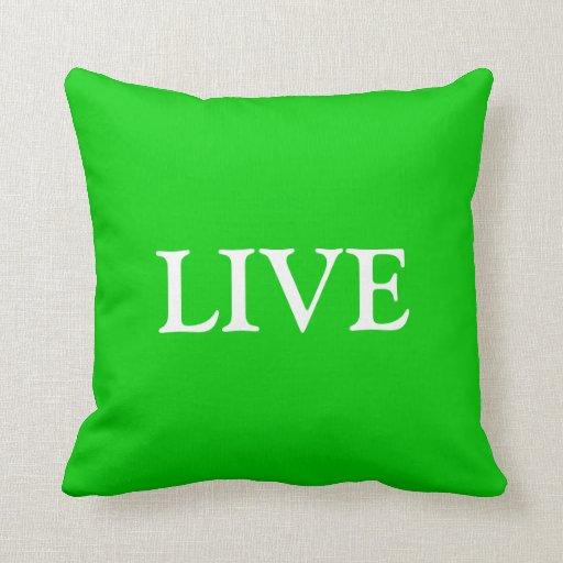 Live Love Laugh Throw Pillow Set 1 Of 3 Zazzle
