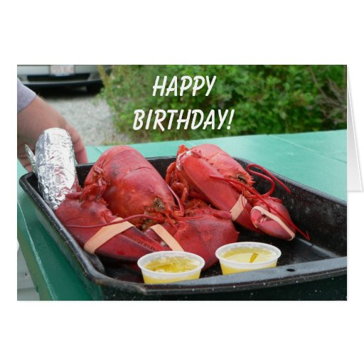 Red Lobster Free Birthday Gift