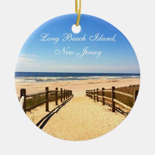 Long Beach Island New Jersey: Long Beach Island, NJ LBI Christmas Ornament