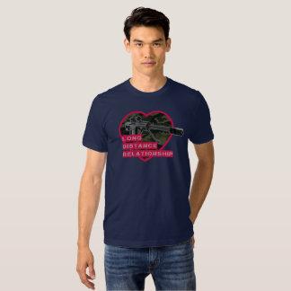 long distance relationship running shirt