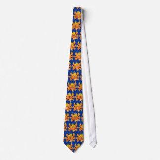 Lord of Fire!! (cute cartoon lion) Tie tie